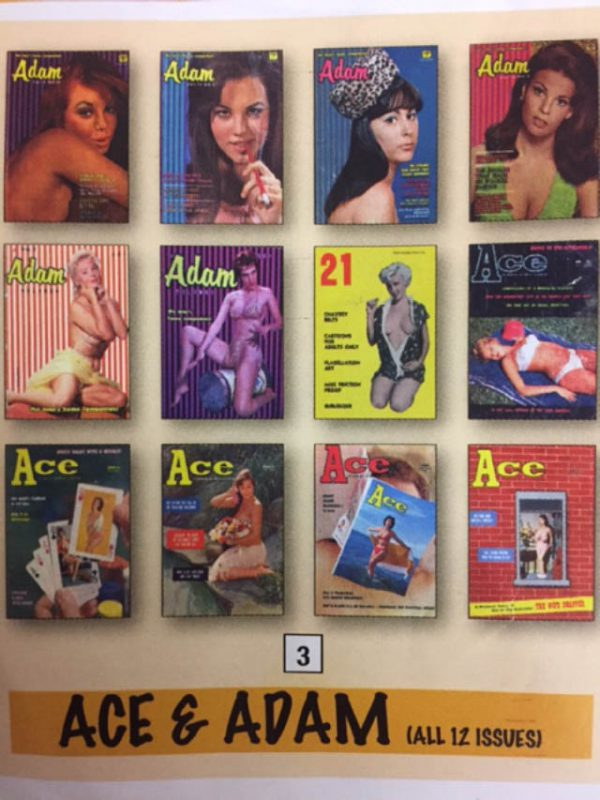 Ace & Adam X 12 Issues Vintage Glamour