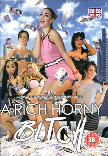 A Rich Horny Bitch  (DVD) Adult Channel