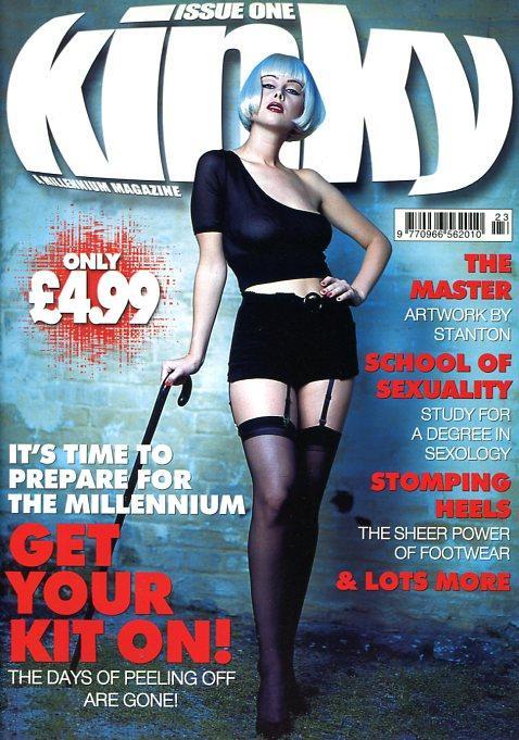 Kinky #1 Various Fetish Lifestyle magazines