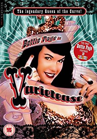 Bettie Page In Varietease (DVD) Various DVD's