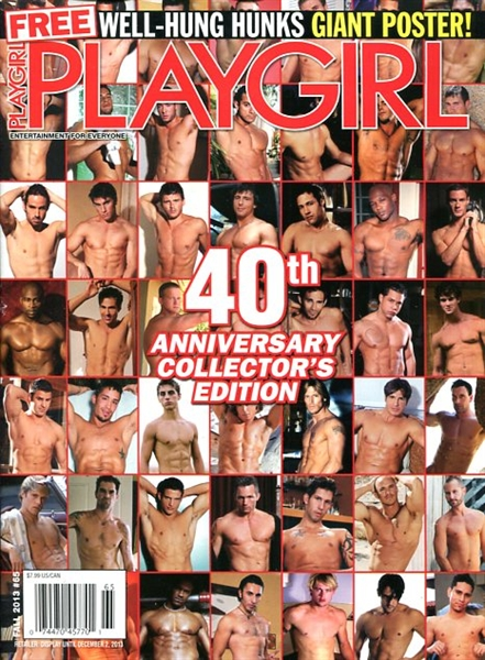 Playgirl Fall 2013 – 40th Anniversary Collector's Edition Gay