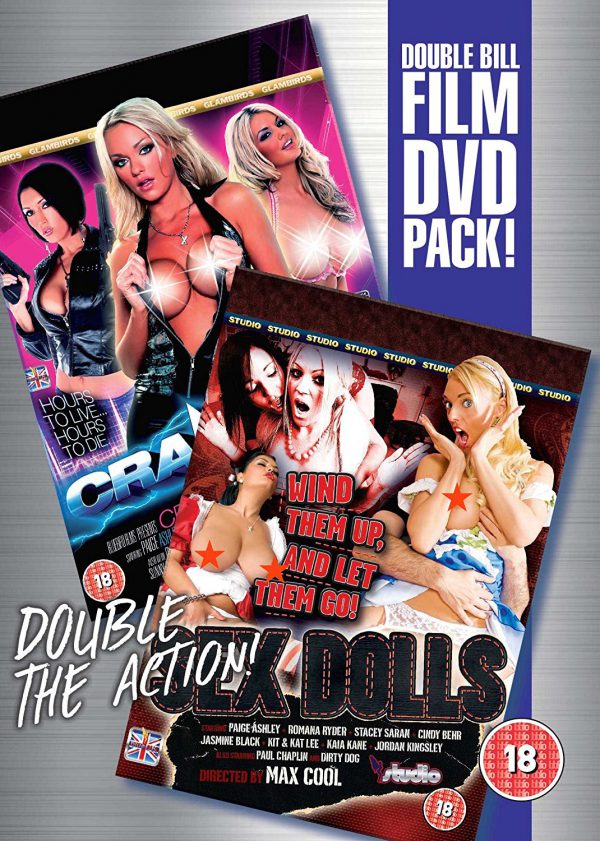 Cranked & Sex Dolls Double Film Pack Various DVD's
