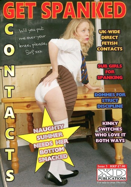 Get Spanked Contacts Issue 3 Fetish Contacts