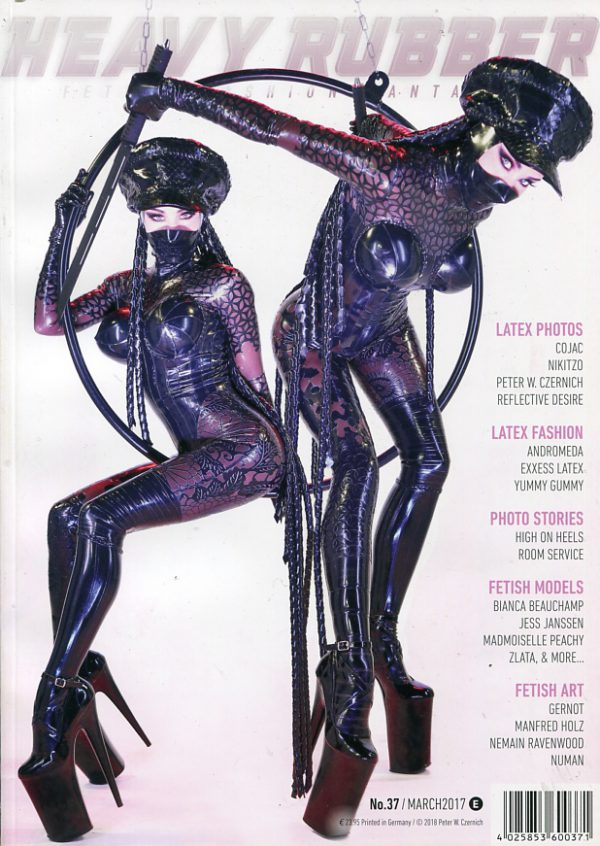 Heavy Rubber #37 Various Fetish Lifestyle magazines
