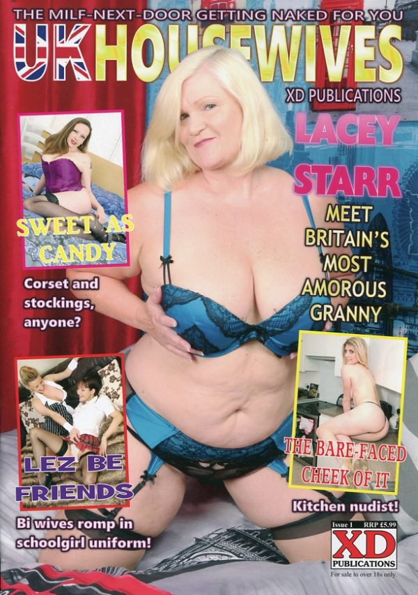 UK Housewives Magazine Issue 1 XD Publications