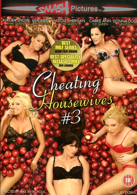 Cheating Housewives #3 (DVD) Various DVD's