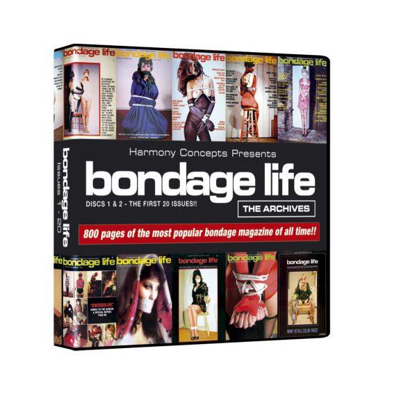 Bondage Life CD-ROM 1 (Issues 1-20) Bondage Life