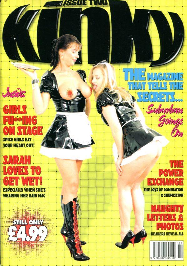 Kinky #2 Various Fetish Lifestyle magazines