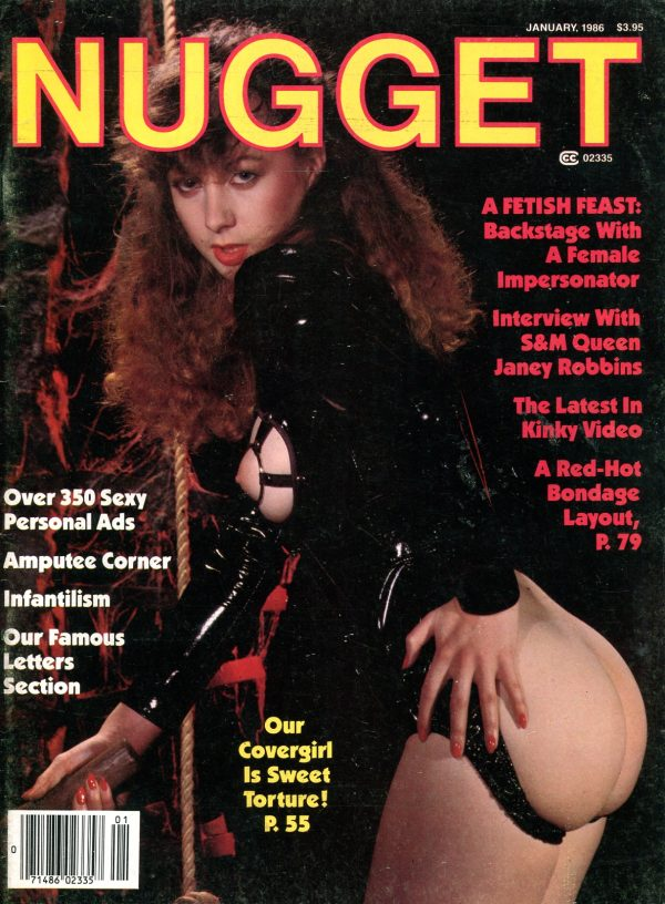 Nugget January 1986 Various Fetish