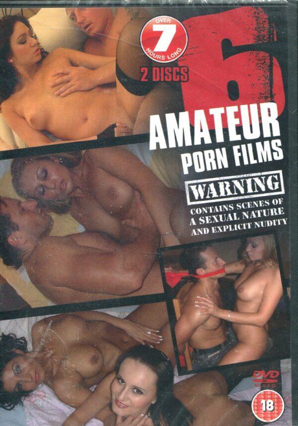6 Amateur Porn Films – DVD Various DVD's