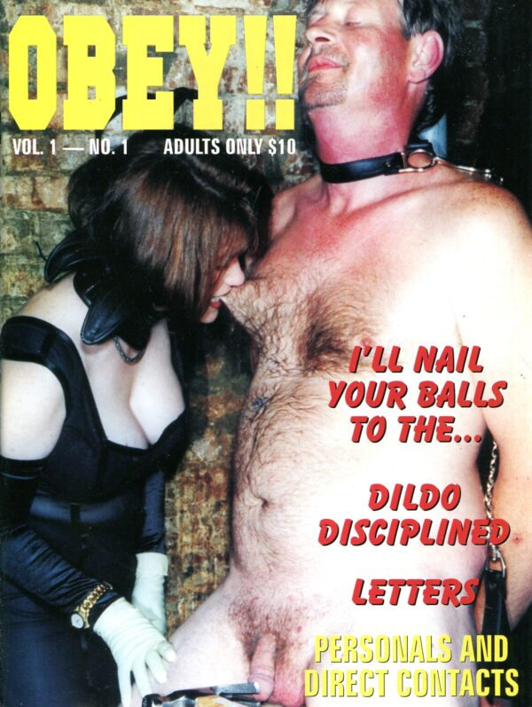 Obey Vol.1 No.1 Various Female Domination