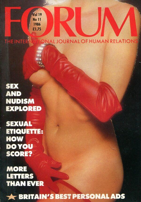 Forum Vol.19 No.11 – 1986 Forum