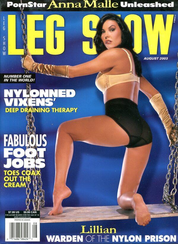 Leg Show August 2003 Leg Show