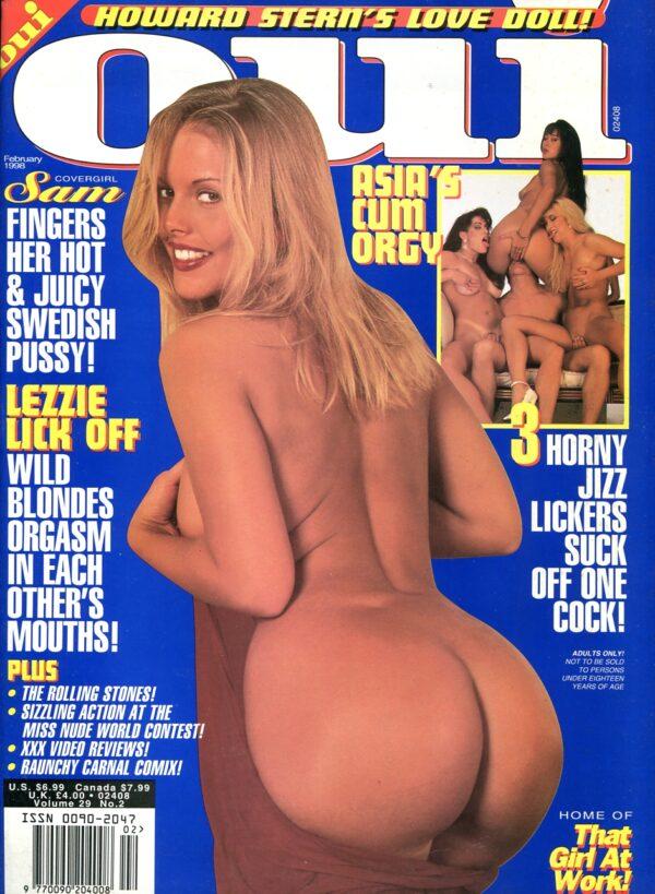 Oui February 1998 Various XXX Hardcore