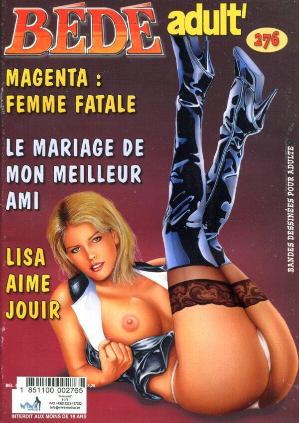 Bede Adult #276 Various Erotic Art and Comics