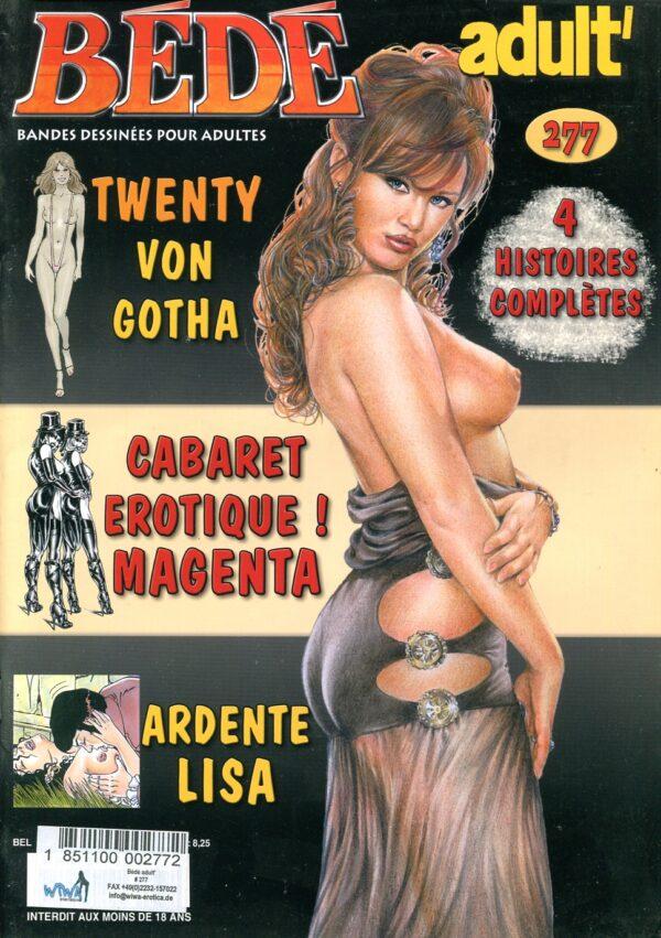 Bede Adult #277 Various Erotic Art and Comics