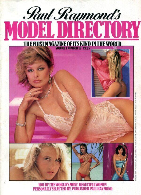 Model Directory Vol.1 No.12 Vintage Men Only/Mens World/Model Directory